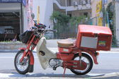 Japan Post motorbike Japan — Stock Photo