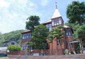 Weathercock House in Ijinkan Kitano Kobe Japan — Stock Photo