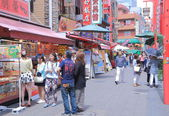 Nankin Chinatown in Kobe Japan — Stock Photo