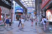 Shopping Arcade Osaka Japan. — Stock Photo