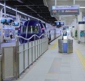 Train station Osaka Japan — Stock Photo