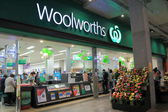 Woolworths Supermarket — Stock Photo