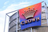 Crown casino Melbourne — Stock Photo