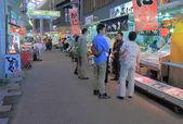 Omicho market Kanazawa Japan — Stock Photo