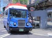 Kanazawa lus bus Japan — Stockfoto