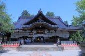 Oyama Shrine Kanazawa Japan — Stock Photo