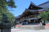 Oyama Shrine Kanazawa Japan — Stock Photo