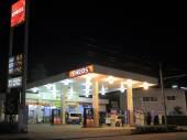 ENEOS petrol station Kanazawa Japan — Stock Photo