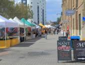 Salamanca Market Hobart Australia — Stok fotoğraf