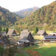 Gokayama village Japan — Stock Photo #56447889