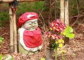 Japanese Buddha statue — Stock Photo