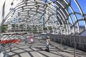 Children Webb bridge — Stock Photo