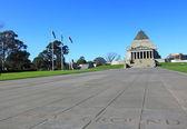 Shrine of Remembrance Melbourne — Stock Photo