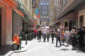 Melbourne lane culture — Stock Photo