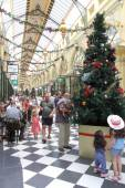 Melbourne shopping arcade — Stock Photo