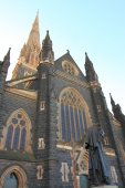 St Patrick's Cathedral Melbourne — Stock Photo