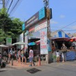 Weekend market Bangkok — Stock Photo #77896930