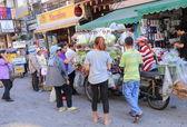 Local street shop Bangkok Thailand — Stock Photo