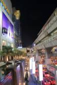 バンコクの夜の街並み — ストック写真