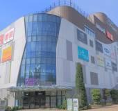 Divercity Tokyo plaza shopping mall Odaiba — Стоковое фото