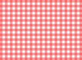 Easy tilable red gingham repeat pattern — Stock Vector