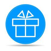 Gift box itson - vector icon — Stock Vector