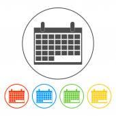 Calendar - vector icon — Stock Vector