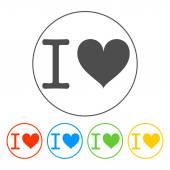 Heart illustration. Happy Valentine's Day — Vetorial Stock