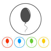 Balloon sign icon.  — Stock Vector