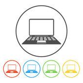 Laptop Icon illustration — Stock Vector