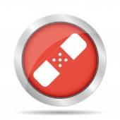 Gips pictogram — Stockvector