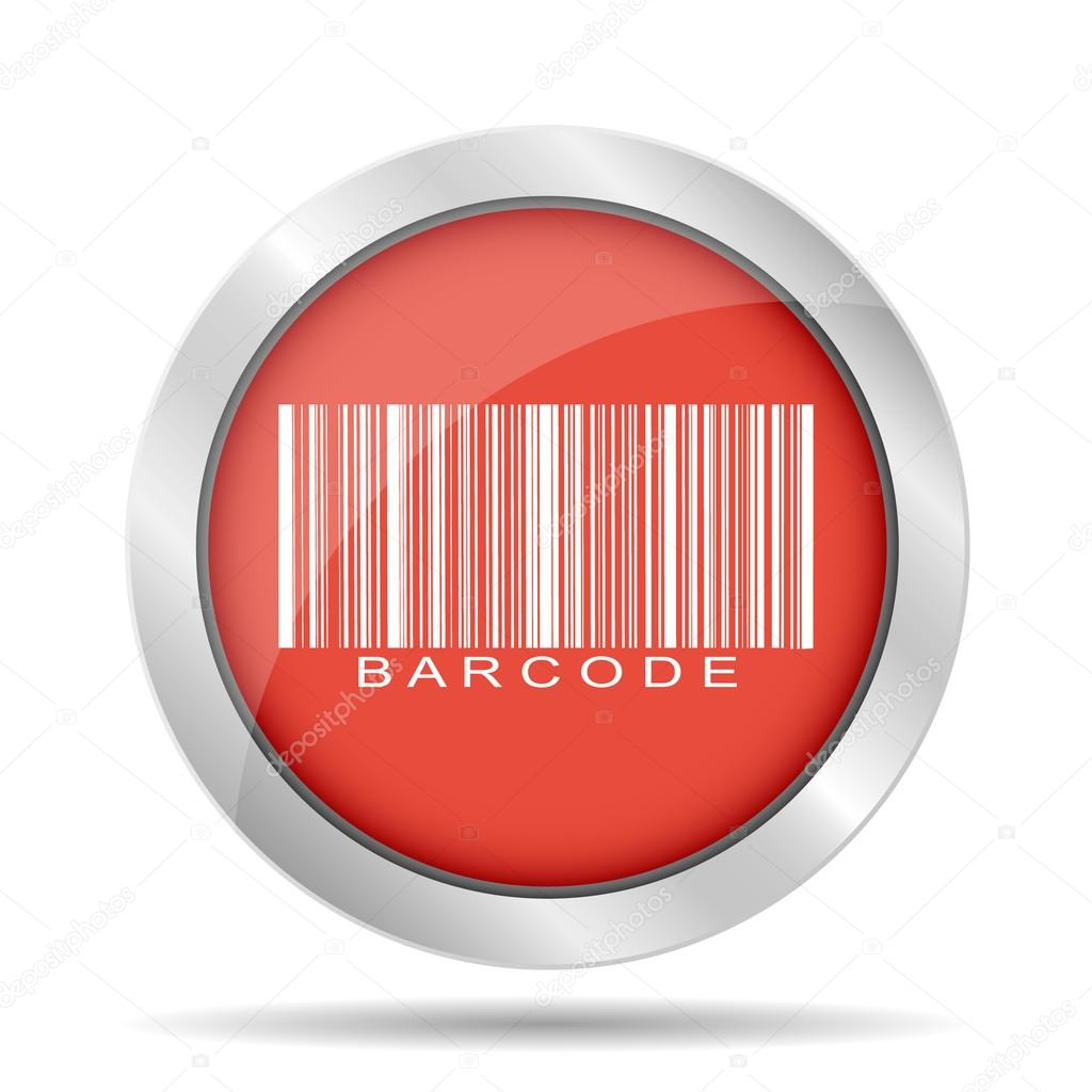 Barcode icon, vector illustration — Stock Vector ...