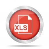 Xls icon — Stock Vector