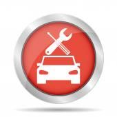 Car service icon — Stock Vector
