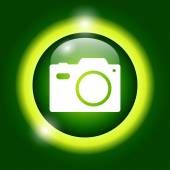 Camera - vector icon — Stock Vector