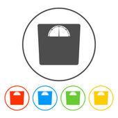Weighting icon — Stock Vector