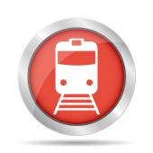 Train icon — Stock Vector