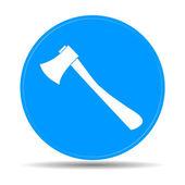 The ax icon. Axe symbol.  — Stock Vector