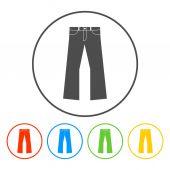 Pants icon — Stock Vector
