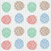 Seamless colorful sheep — Vecteur