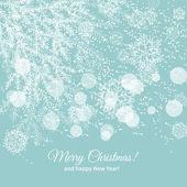 Christmas tree twig — Stock Vector