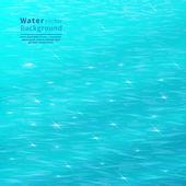 Blue water — Stock Vector