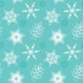 Flocos de neve sem emenda — Vetor de Stock