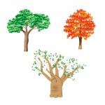 Tree set — Stock Vector #63671139