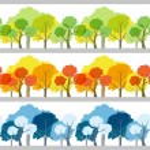 Tree set — Stock Vector #71860493