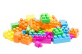Toy Lego block — Stockfoto
