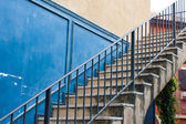 Old stair concrete — Stock Photo