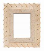 Photo of wood frame — Stock Photo
