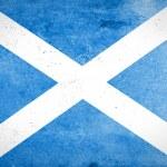 Grunge texture Scotland Flag — Stock Photo #59198379