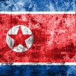 Grunge Flag of North Korea — Stock Photo #59497635
